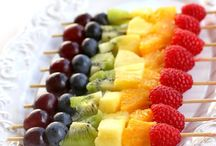 Creative with Fruits and Veggies
