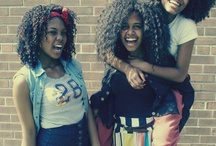 Black people Hair(: / All kinds of black girl hairstyles! / by sophie H.