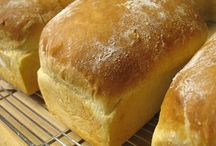 Recipes bread, rolls and pastry.