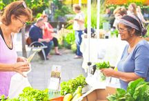 Think Global, Eat Local / Eat fresh food. Visit the #Toronto Botanical #Garden #Organic #Farmers #Market every Thursday from 2 to 7 p.m. (open year-round) / by Toronto Botanical Garden