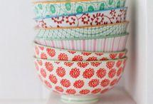 Plates & Bowls / Gorgeous Plates, Bowls, Platters, Silverware & More!