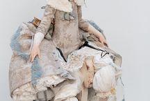 衣装デザイン人形