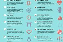 Tipps um glücklich zu werden
