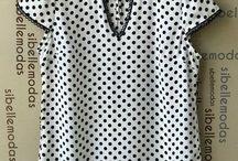 moda blusas