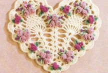 Crochet-corazón
