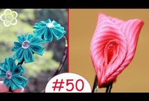 Kwiaty kanzashi