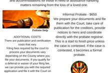 Probate and Small Estate Transfers