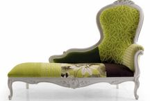 Settee's & Chaises / Unqiue sofa's & chaise longues. Create your own www.hiddenmill.com