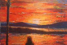 Budai Tímea festményei