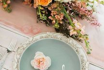 Table decor and place settings