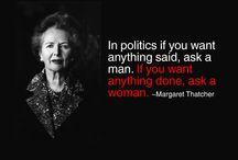 < A Woman's Place is in the House.... and the Senate > / by Julianne Sinak