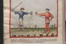 Fencing scroll