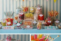 Candy buffets, candy carts & wedding sweet tables