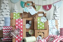 Christmas Party Ideas and DIYs / Make this year's Christmas party spectacular with these Christmas decor, food and DIYs.