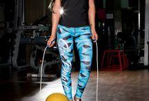 Camo Blue - legginsy Six Deuce / Legginsy z serii Camo od Six Deuce! Aktualne modele dostępne na www.sixdeuce.pl