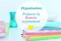 organisation : planning, menus...