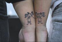 Tattoo μαιρουλας ❤️ / Τα tattoo τις ❤️ το καλύτερο δώρο που μπορεί να κανει η μια αδελφή στην αλλη