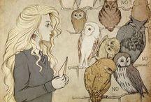 Luna Lovegood | Evanna Lynch / A true beauty behind oddity. -Luna Lovegood