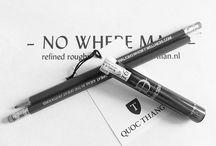 Pencils / Analogue idea recorders