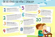 Los derechos del niño / Manualidades, decoraciones, frases y más sobre los derechos del niño