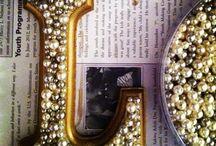 Lettere con perle