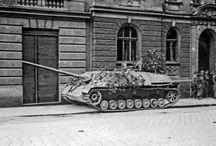 Tanky v Olomouci (Tanks in Olomouc, Czech Republic)