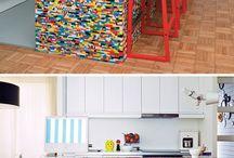 coisas feitas de lego
