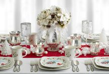 Winterberry Wonderland / We're dreaming of a White Winterberry Christmas! You can use Winterberry items to both set a stunning Christmas dinner table, and to create a whimsical feel throughout your entire home.   / by Pfaltzgraff