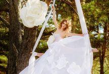 Цветы. Изолон. Украшение свадьбы Украшение вфездной регистрации