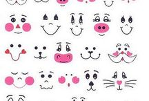 Animal faces