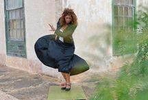 Flamenco practice board