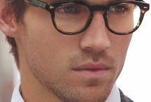 Gafas de vista de pasta para hombre