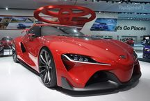 Toyota Concept Cars / Check out the hottest Toyota designs rolling in hot off the press!
