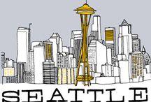 Seattle My ❤️ / by Pam Seymour