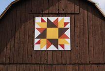 barn quilts / by Julie Christensen