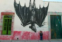 ∞∞ Street Art ∞∞ / Street art, grafitti and other fun art.