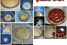 Çilekli Tart Tarifi / evde çilekli tart yapmak çok kolay