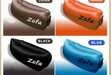 Zofa Air Inflateable Sofa, Lightweight, Comfy, Durable, Simple to use, with carry bag.