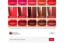 So much lipstick / Love this collection of lipstick