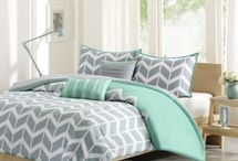 quilt covers blue green