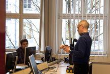 Tag der offenen Tür 2017 / Zahlreiche Studieninteressierte besuchten uns zum Tag der offenen Hochschule und konnten sich in Seminaren, Vorträgen und Laboren ein Bild vom Studium an der HfTL machen.