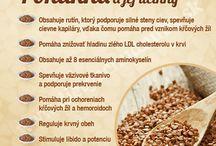 luštěniny a bylinky léčivky