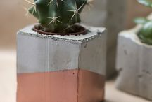 Clay + Concrete / trend alert! Following the clay and concrete obsession.