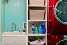Basement - laundry ideas