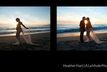 Sunset and Silhouette Maternity Photography Los Angeles
