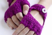 guantes a crochet