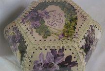 Handkerchief boxes