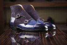 double monk Chukka boots