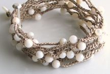 crocheted jewellery