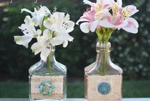 Crafty | Bottles & Jars / If only I could BOTTLE up all of these crafty ideas! / by Tammy @ Not Just Paper and Glue